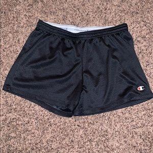 Mesh track shorts